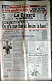 CANARD ENCHAINE [No 3916] du 15/11/1995 - SECU - POURQUOI JUPPE A BIEN GONFLE LA...