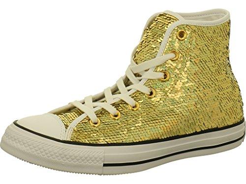 Converse Chucks mit Pailetten Größe 39.5 Gold/White/Black