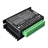 Quimat Nema 17 Schrittmotor stepper driver 1,7A 24V 40mm 40Ncm (56.2oz.in) + TB6600 Schrittmotor Fahrer 32 Segmente 4A 40V 57/86 für 3D Printer Drucker (QD07)