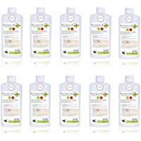 Preisvergleich für 10x 500ml Flasche Hygiene Händedesinfektion Desinfektionsmittel ohne Zubehör