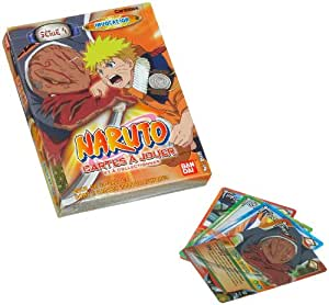 Bandai - Cartes à jouer - Naruto - Starter Série 4 Blister