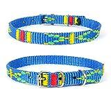Strapazierfähiges Nylon Hunde Halsband Native Look große Hunderassen L XL XXL bunt türkis M