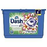 Dash 2en1 Perles Lessive en Capsules Fleurs de Frangipanier & Mandarinier 19Lavages - Lot de 2