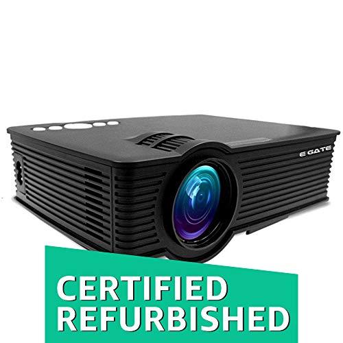 "(CERTIFIED REFURBISHED) EGATE i9 MIRACAST LED HD PROJECTOR - HD 1920 X 1080 – HDMI – USB - VGA – 120"" DISPLAY"