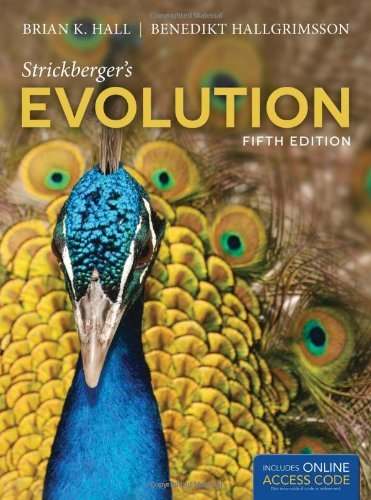 Strickberger's Evolution by Brian Keith Hall (2013-02-01)