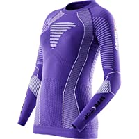 X-Bionic – Camiseta de Running Effektor Power OW LG SL, Mujer, Running Lady EFFEKTOR Power OW Shirt LG_SL, Purple/White