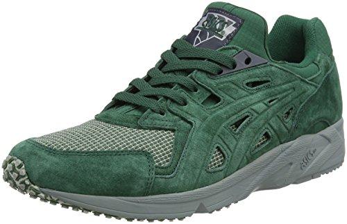Asics Herren Gel-DS Trainer OG Sneaker, Grün (Hunter Green/Hunter Green 7979), 44 EU (Gestickt Gel)