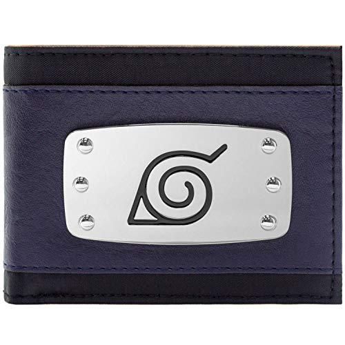 Naruto Ninja Stirnband Blau Portemonnaie Geldbörse