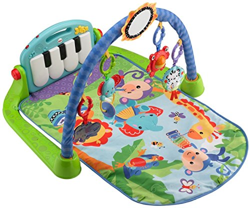 Mattel Fisher-Price BMH49 Rainforest Piano-Gym mit Musik