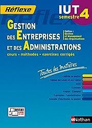 Toutes les matières IUT Gestion des Entreprises et des Administrations - Semestre 4