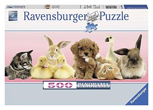 Ravensburger 14801 1 - Panorama: Amici per la Vita, Puzzle 500 Pezzi
