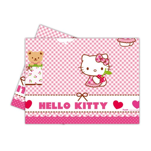 Prinzessin Kitty Hello Kostüm - PARTY DISCOUNT NEU Tischdecke Hello Kitty, 120x180 cm