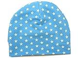 Wintermütze 'Superstar' hellblau von Kleine Könige Gr. 86-128 Babymütze Kindermütze Größe 51+ cm (110/116), Farbe beige