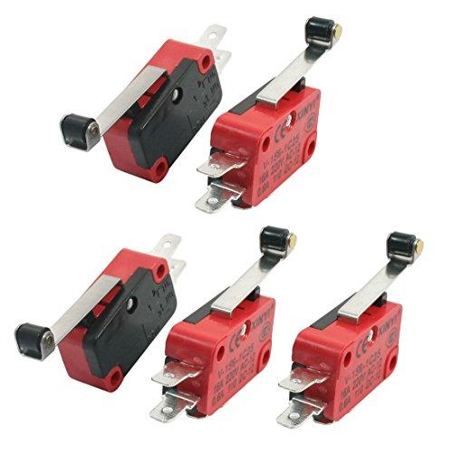 5x v-156–1C25Micro Limit Switch Lange Roller Arm SPDT Snap Action Viel
