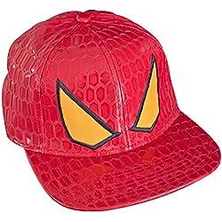 Spiderman The Amazing Spider-Man Men's Snapback Red Cap (accesorio de disfraz)