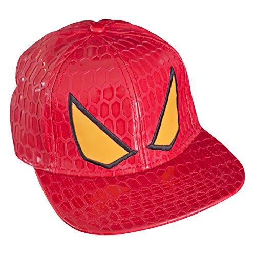 spiderman-the-amazing-spider-man-mens-snapback-red-cap-accesorio-de-disfraz