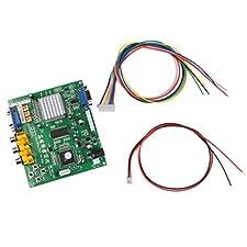 Cga Apg-8200 A VGA De Salida Juego De Arcade De Vídeo HD Placa Del Convertidor Sola