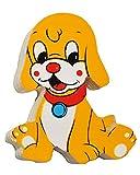 Magnet / Holzmagnet - Hund - sehr stabil aus lackiertem Holz - für Kinder - Magnet z.B. für Kinderzimmer Kühlschrank - Kühlschrankmagnet / Kindermagnet Holzma..