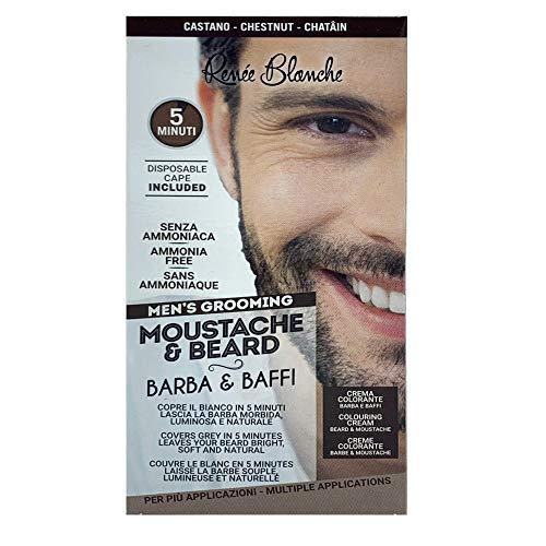 Scopri offerta per Renee Blanche Colorazione Per Barba E Baffi Tintura Colore Castano 2 x 20 Ml