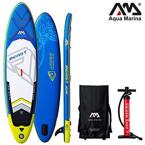 Aqua Marina Beast 2019 SUP Board Inflatable Stand Up Paddle Surfboard Paddel