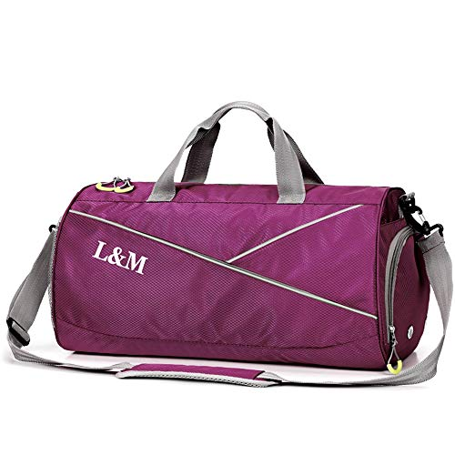 Gym Bag with Shoes Compartment a...