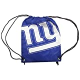 NFL New York Giants Official Foil Print Drawstring Sports/Gym Bag