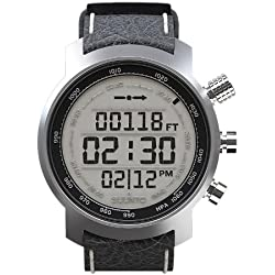 Suunto Elementum Terra Leather Watch - Black