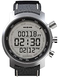 Multifunktionsuhr Armbanduhr 'Elementum Terra' black leather - Höhenmesser Kompass Barometer