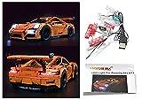LED-Beleuchtungsset Für Lego Porsche 911 GT3 RS 42056 und 20001 Modelle Lego Licht Kit Led Lego Lichter Lego Lichter Bausteine Lego kompatibel