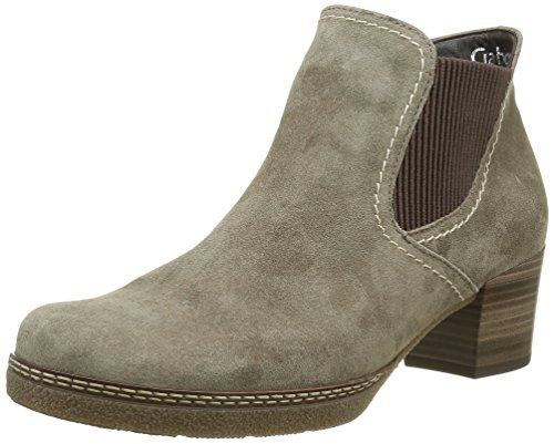 Gabor Shoes Comfort Basic, Stivaletti Donna Grigio (ratto S.N/A.MA/Mix)
