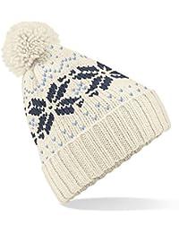 Beechfield Fair Isle - Bonnet tricoté - Adulte unisexe