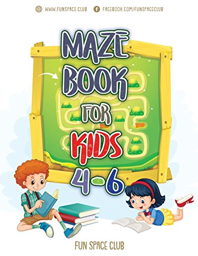 Maze Books for Kids 4-6: Amazing Maze for Kids Activity Books Ages 4-6: Volume 4 (My first book of easy mazes puzzle books for kids) por Nancy Dyer