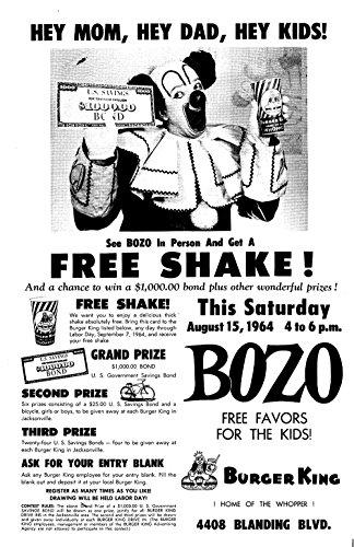 bozo-burger-king-poster-extra-large-matte-print