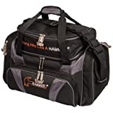 Hammer Premium Deluxe Double Tote Bowling Bag, H906-50, Black/Carbon, Einheitsgröße