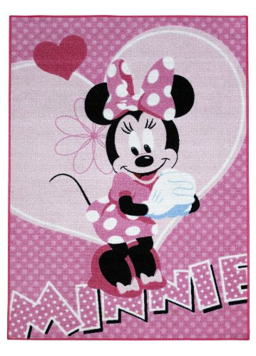 Associated Weavers Minnie 23 - Alfombra, color rosa