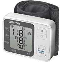 OMRON RS3 Tensiomètre au poignet, valeur moyenne des 3 mesures réalisées en 10 minutes, 60 mesures, Validé cliniquement