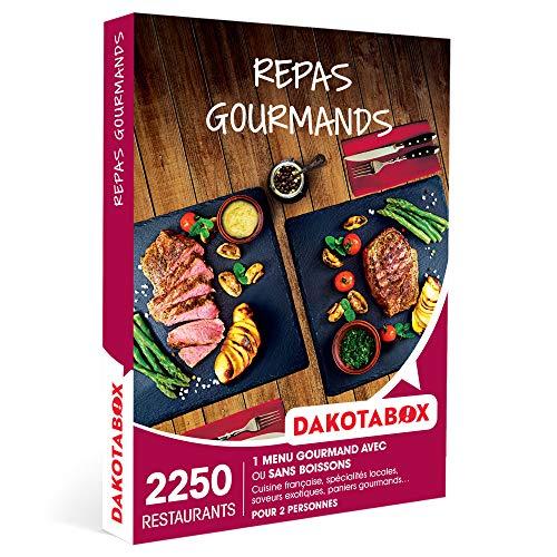 DAKOTABOX - Repas gourmands - Coffret Cadeau Gastronomie - 1 menu gourmand avec ou...