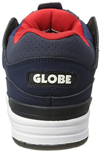 Globe Herren Fusion Skateboardschuhe Blau (Navy/Red)