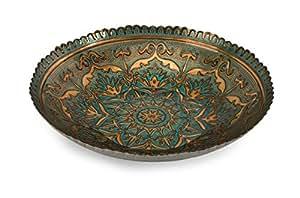 IMAX 83119 Ravenna Glass Bowl