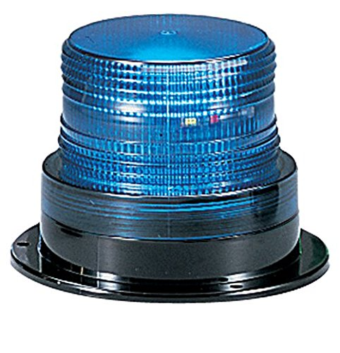 Federal Signal LP6-012-048B Streamline Low Profile Mini Strobe Light, Surface Mount, 12-48 VDC, Blue by Federal Signal -