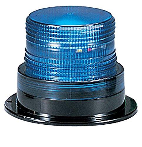 Federal Signal LP6-012-048B Streamline Low Profile Mini Strobe Light, Surface Mount, 12-48 VDC, Blue by Federal Signal Low-profile-strobe Light