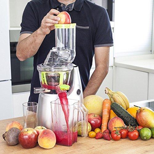 blender pour fruits et l gumes en au sang froid extracteur de jus avec cha ne xl pour fruits. Black Bedroom Furniture Sets. Home Design Ideas