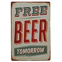 Vintage Metal Tin Sign Poster Plaque Bar Pub Club Cafe Home Plate Wall Decor E