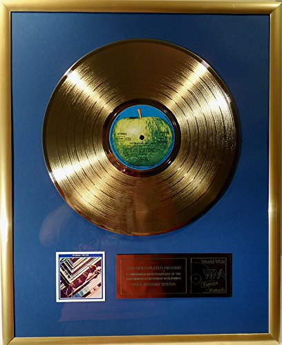 The Beatles The Beatles 1967-1970 goldene Schallplatte gold record