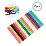 Chuanglan ID Hundehalsband, 15 Farben, Größe M, L, weiche, Verstellbare Hundehalsbänder ermöglichen es Ihnen, Ihr kleines Haustier Hund Katze einfach zu erkennen