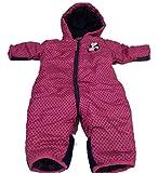 HSN Mädchen Baby Winter Overall Anzug 1-Teiler Schneeanzug Thermoanzug 62-104 *PAL (74-80, Pink)