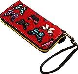 Kukubird Butterfly pattern purse (K3B Red)
