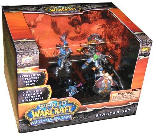 World of Warcraft WoW Miniatures Game Starter Set