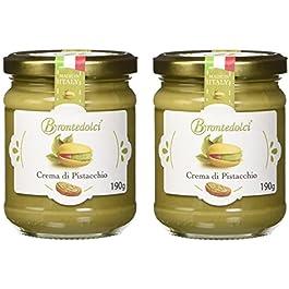 2 Vasetti – Crema di Pistacchio con il 40% di pistacchi di Sicilia, ideale per la colazione, ma soprattutto per farcire…