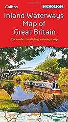 Collins Nicholson Inland Waterways Map of Great Britain by Collins Maps (2016-06-01)